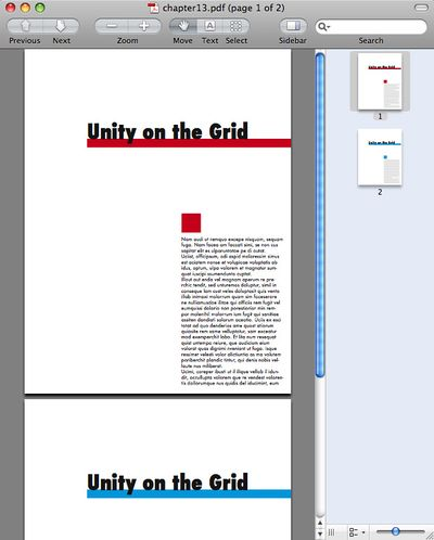 plage another page of pdf file in indesign